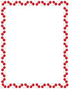 school clip art borders strawberry border clip art vector clip rh pinterest com