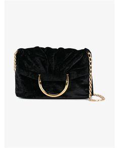 STELLA MCCARTNEY | Nina Velvet Shoulder Bag