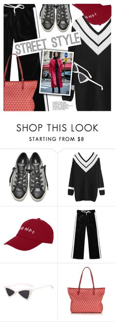 """""""Street Style"""" by pokadoll ❤ liked on Polyvore featuring Converse and Lancaster"""