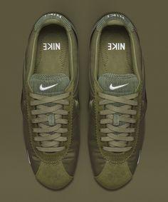 Nike Cortez Textil (Olive)