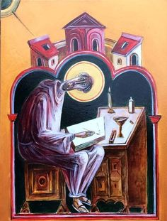 Byzantine Icons, Orthodox Icons, British Isles, Christ, Darth Vader, Anime, Painting, Fictional Characters, Saints