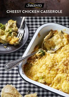 Just seven ingredients and one pan, and you've got a tasty, easy weeknight dinner. Combine chicken with broccoli or asparagus, add a few other pantry staples and top with a generous amount of Cheddar cheese. Get the full chicken casserole recipe on Sargento.com.