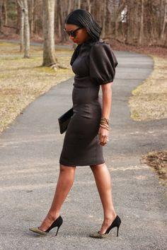 #diy ponte dress-Beaute' J'adore