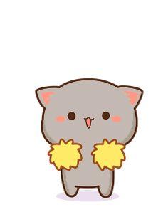 For Sale Siamese Cats Diy Kawaii, Kawaii Chibi, Kawaii Cat, Cute Chibi, Kawaii Anime, Cute Love Gif, Cute Cat Gif, Cute Cats, Cute Bear Drawings