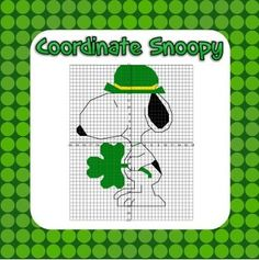 ***Free for the first 48 hours.  If you like it, please be awesome and leave some kind feedback!  Thanks***Snoopy Coordinate Grid Picture - Unlike many other coordinate graphing activities found on this site, this activity includes all four quadrants of the grid.