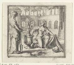 Illustratie voor de Decamerone van Boccaccio, Romeyn de Hooghe, 1697