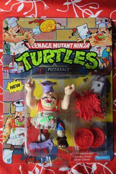 TMNT Teenage Mutant Ninja Turtles PizzaFace Pizza Face