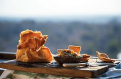 Baked Camembert in Phyllo with Sticky Figs - Sarah Graham Food Fig Recipes, Snack Recipes, Snacks, Graham Recipe, Sarah Graham, Baked Camembert, Those Recipe, Wine Cheese, International Recipes