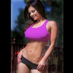 Denise MIlani Modeling Sports Wear