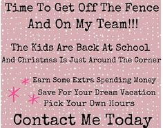 With holiday season right around the corner it's time to earn some extra cash! Join my Scentsy team and become a part of an amazing group of people who will support you in life and your business   https://rachberkman.scentsy.us