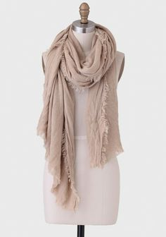 pretty #beige scarf http://rstyle.me/n/ifkjrr9te