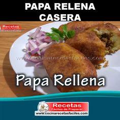 Mexican Dishes, Mexican Food Recipes, Ethnic Recipes, Salsa Videos, Peruvian Dishes, Cooking Recipes, Healthy Recipes, Empanadas, Baked Potato