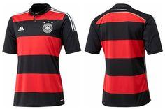Camisas reserva Alemanha 2014-2015