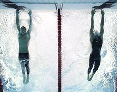 Phelps photo finish comeback in the 100-meter butterfly in Beijing '08 tying Spitz's record of 7 Gold Medals in one Olympics, setting up passing it the next day in the relay. #phelps #Olympics