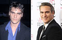Los famosos antes y ahora