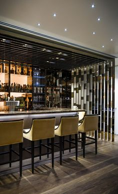 Stratus  Bar, Canada designed by B+H Architects