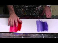 How to use acrylics. How to blend Artist Acrylic Paints Blending paints lesson