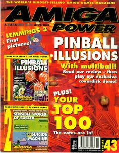 Amiga Power Issue 43 One Pic, Illusions, Magazines, My Love, Reading, Videogames, Journals, Reading Books, Optical Illusions