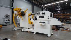 Uncoiler And Straightener Machine