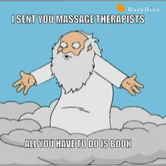 people believe massage therapist were sent from heaven, who are we to argue.,Some people believe massage therapist were sent from heaven, who are we to argue. Massage Therapy Humor, Massage Funny, Massage Therapy Rooms, Massage Room, Funny Massage Quotes, Spa Quotes, Massage Tips, Massage Benefits, Massage Techniques