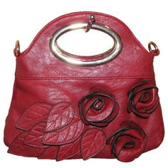 Price: 	$29.95 | Rosette Clutch Handbag