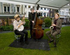 Jazz entertainment in the Garden