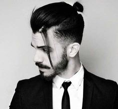 You can now get mini-fedoras for your man bun ...