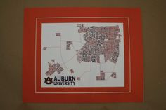 Auburn Campus Print College campuses are transformed into art! Each design…