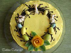 Appelsiinin makuinen kakku pääsiäiseen