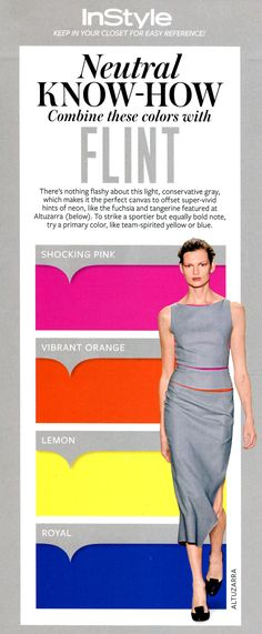 InStyle - What to wear with Flint
