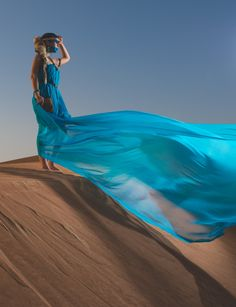 Fushion - Some creative shooting in the deserts surrounding Dubai with a Ukranian model...with a little northern Canadian fashion influence.