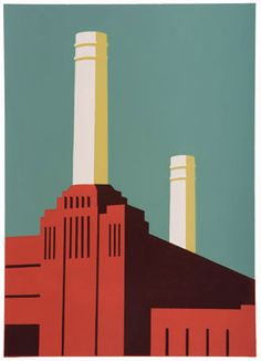 London Calling - an exhibition of prints inspired by the capital - Paul Catherall - Battersea Power Station