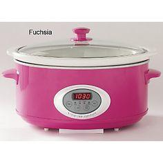 Hot Pink Crockpot