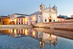 St Maria's church, Lagos, the Algarve.