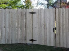 gray stockade fence - Google Search