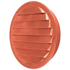 """Round copper soffit vent with screen.  Available in 1"""", 1.5"""", 2"""", 3"""", 4"""", and 6"""" sizes.  Applications include soffit venting, wall venting, and more.  Manufactured in the USA"""