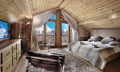 Image result for ski chalet bath in bedroom