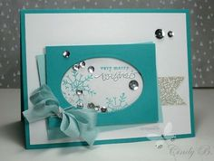 Coastal Cabana, Pool Party, White & Silver, Frosted Sequins & Snowflakes, Silver Glimmer paper & emb. powder, Oval Framelits