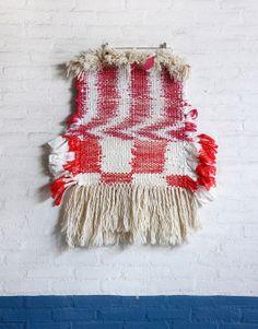 Union of Striped Yarns by Dienke Dekker, on sightunseen.com