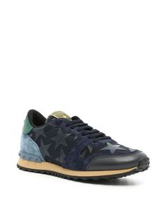 VALENTINO Camustars Rockrunner Sneakers. #valentino #shoes #sneakers