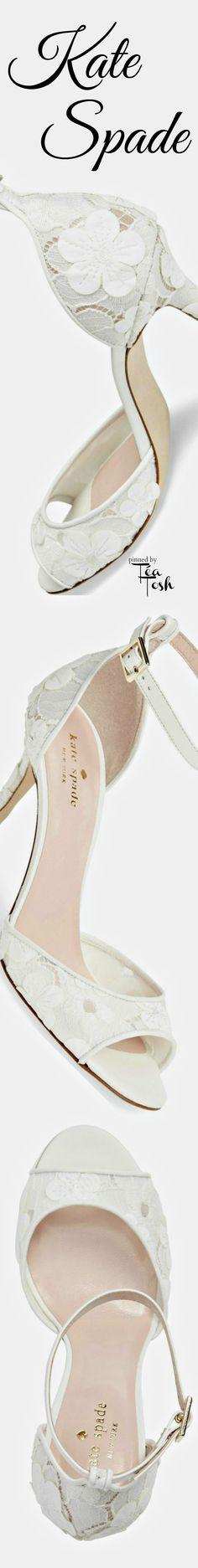 Shoes sandals wedding ❇Téa Tosh❇ kate spade