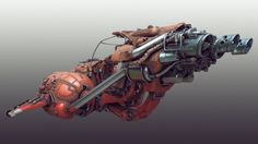 Scifi speeder I made quite some time ago for the Polycount petrol challenge but never rendered out. Highpoly without UVs, textured procedurally.
