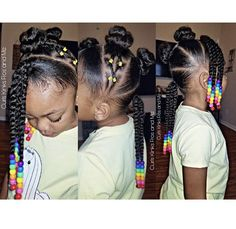 Natural Hairstyles for Black Girls Toddler Hairstyles Girl black girls Hairstyles Natural Black Kids Hairstyles, Natural Hairstyles For Kids, Kids Braided Hairstyles, Box Braids Hairstyles, Kids Natural Hair, Princess Hairstyles, Mixed Baby Hairstyles, Beautiful Hairstyles, African Hairstyles