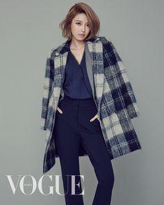 Girls' generation / SNSD Sooyoung for 'Vogue' magazine September Issue 2015 Yuri, Kpop Fashion, Korean Fashion, Fall Fashion, Divas, Sooyoung Snsd, Estilo Hip Hop, Kpop Mode, Girl's Generation