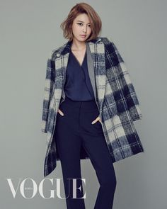 Girls' generation / SNSD Sooyoung for 'Vogue' magazine September Issue 2015 ... fall fashion.