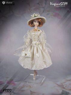 Tenue Outfit Accessoires Pour Fashion Royalty Barbie Silkstone Vintage 1300 | eBay