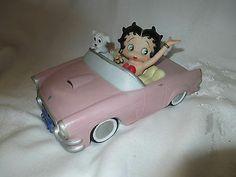 Betty Boop Pink Cadillac by San Francisco Music Box Company 1997 | eBay