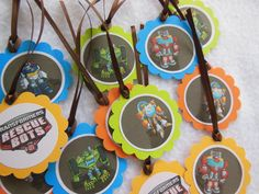 Transformer Rescue Bots Party Favor #partykids 4th Birthday, Birthday Parties, Birthday Ideas, Pig Party, Party Fun, Party Ideas, Rescue Bots Birthday, Transformer Birthday, Transformers