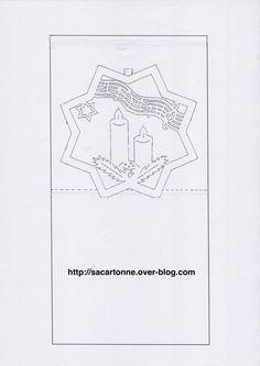 109 Meilleures Images Du Tableau Kirigami Noel Templates