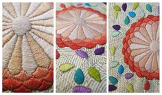 embroidery mimoza